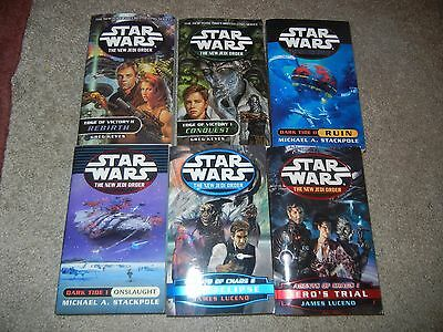 Star Wars The New Jedi Order ALL First Edition Lot SC