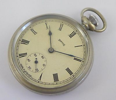 Vintage Smiths Mechanical Pocket Watch Made in England LAYBY AVAILA
