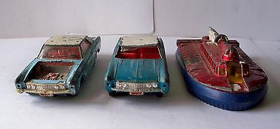 Dinky toy # 57/001 Buick Riviera cars & #290 hoover craft for spares lot #1