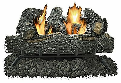 "Kozy World, 18"", Vent Free Fire Log Set, 30,000 BTU's, Dual Fuel 195319"