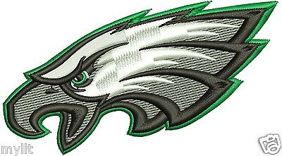 Philadelphia Eagle embroidery design INSTANT Download embroidery machine pattern