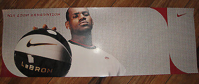 LeBron James Nike Air Zoom Generation Poster Miami Heat