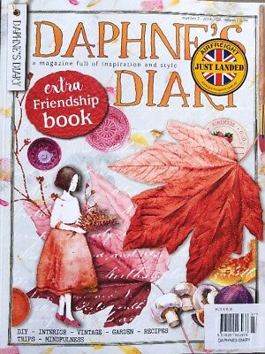 DAPHNE'S DIARY NUMBER 7- 2018 With EXTRA FRIENDSHIP BOOK