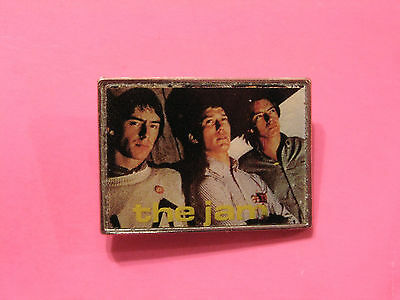 The Jam Vintage Group Pin Uk Import Mods Punk Paul Weller Two Tone Not Patch
