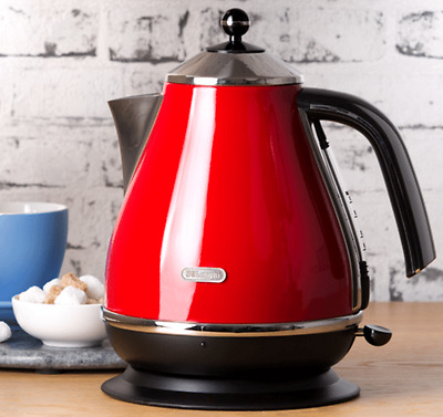 Kettle Cordless Electric Jug Kitchen Water Automatic Delonghi Hot Coffee Pot
