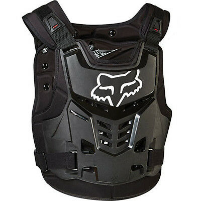 Fox Racing Mx Proframe Body Armour Chest Protector Black - Large/x-Large