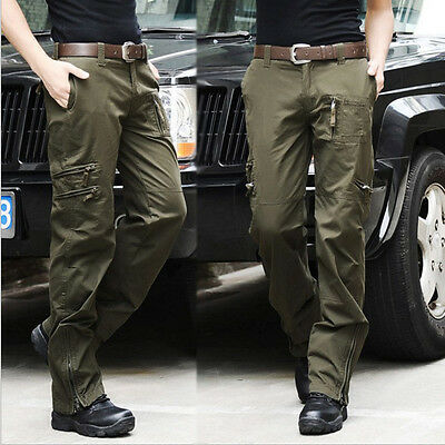 NEW Good Men Waterproof Breathable Trendy Quick-drying Military Outdoor Pants