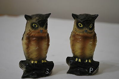 Brinn's 3 1/2 inch Owl Salt & Pepper Set  NICE!!