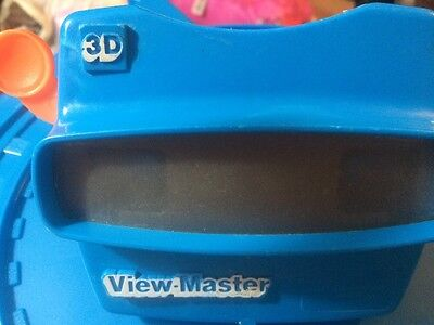 Vintage Blue View master 3D Viewer 1998 Fisher Price