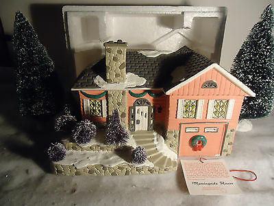 Dept 56 Snow Village ~ Morningside House ~ Mint In Box 51527