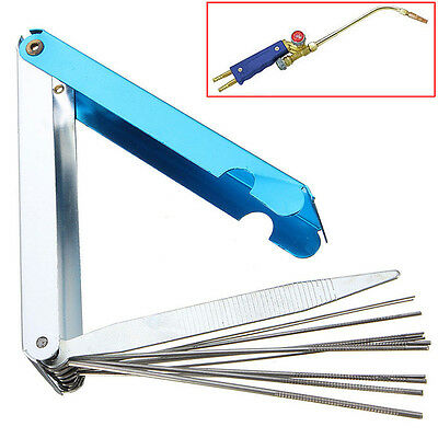 14 in 1 Welding Torch Nozzle Tip Cleaner Cutting Reamer Kit For Welder Soldering
