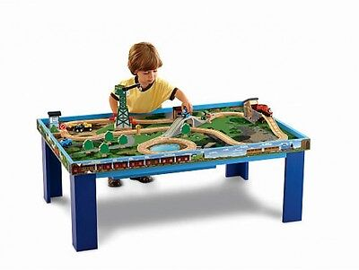 Fisher-Price Thomas Wooden Train Railway Grow With Me Play Table