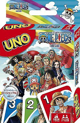 UNO ONE PIECE Playing Cards Game From Japan Free Shipping