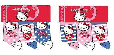 Kindersocken Hello Kitty im 3er Pack