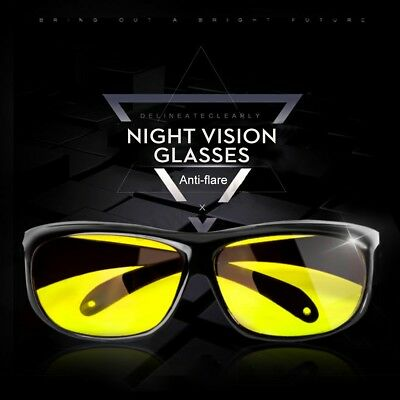 HD Unisex UV Protection Lenses Sunglasses Night Vision Goggle Driving Glasses US