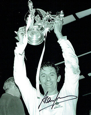 Alan MULLERY SIGNED Autograph 10x8 Photo AFTAL COA Spurs TOTTENHAM FA Cup Winner