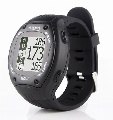 POSMA GT1+ Golf Trainer GPS Golf Watch Range Finder Global Golf Courses
