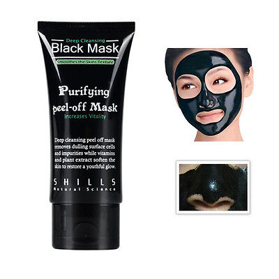 SHILLS Blackhead Remover Deep Cleansing Purifying Peel Acne Black Mud Face Mask