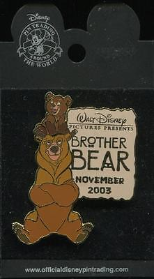 DLR Cast Exclusive Brother Bear LE Disney Pin 26575