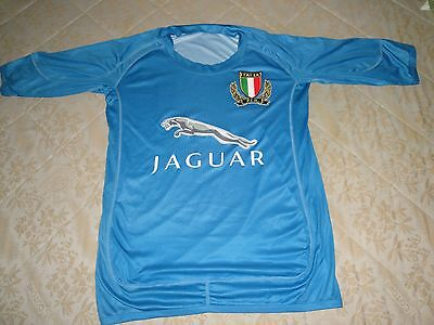 Replica  Italy 2003 2004  Vintage Rugby Shirt Jersey Maglia Size M Jaguar