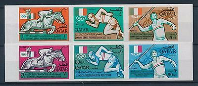 [34160] Qatar 1966 Olympic games Mexico Imperforated VF MNH set