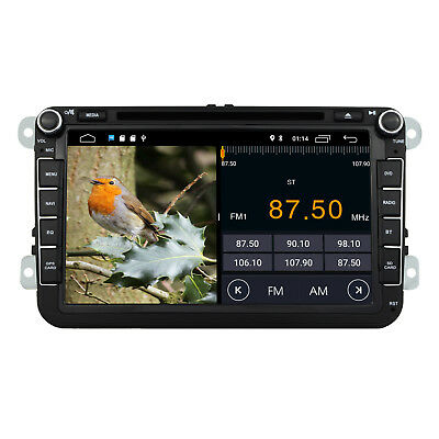8'' Android 8.1 Car GPS Sat-Nav/DVD Player/iPod/Bluetooth/WIFI VW T5 Transporter