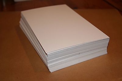 Letterpress (280gsm 100% cotton papers 100 sheets pure white A6 105mmX148.5mm)