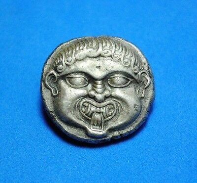 Neapolis AR Stater, c. 500-480 BC.a