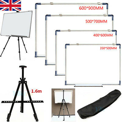 Artist Field Studio Painting Easel Tripod Display Stand + White Magnetic Board