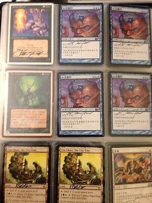 MTG Christopher Rush Signed 36x LOT  The Wretched Chronicles + Junun Efreet IV