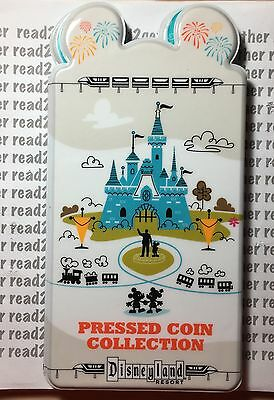 Disneyland Resort Pressed Penny Coin Collection Book Holder NEW!