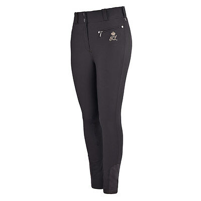 *SALE* Kingsland Kadi Ladies Knee Grip Breeches - Licorice - RRP £135.00