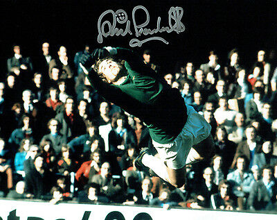 Phil PARKES Signed Autograph West Ham United Legend 10x8 Photo E AFTAL COA