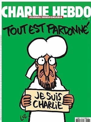 FRENCH newspaper CHARLIE HEBDO MAHOMET 1178     _  year 2015 after attacks