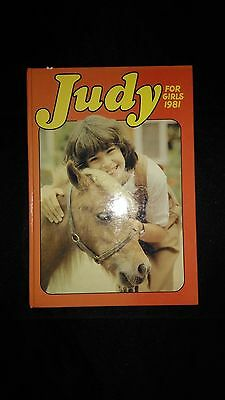 Judy For Girls Vintage Annual 1981