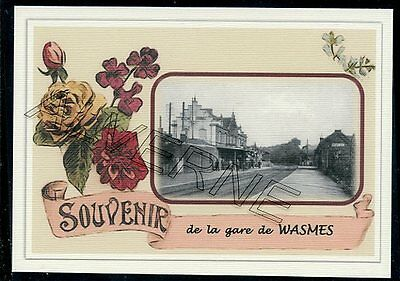 WASMES  - gare... souvenir creation moderne serie limitee et numerotee
