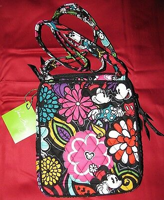 Disney Mickey's Magical Blooms Mini Hipster Bag By Vera Bradley Nwts! Sale!