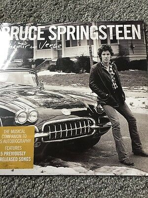 "Bruce Springsteen ""Chapter & Verse"" - 2 x Vinyl LP - NEW AND SEALED"
