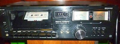 National Panasonic Deck 612 Stereo Cassette Tape Piastra Registrazione Vintage