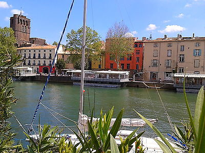 Summer 2017 from £22/pers/day South of France - 3 bedrooms with river views.