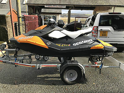 Seadoo Spark 2up 90hp 2015 SBS Roller Trailer, front bucket 21hrs , Immaculate!!