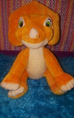 "Rare 8"" The Land Before Time Cera Plush Toy 2007 Playmates Universal Dinosaur"