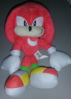 sonic the hedgehog rare classic knuckles jazwears soft plush toys