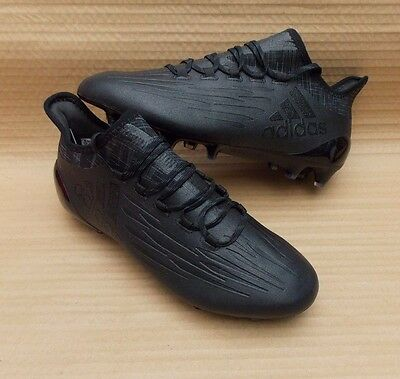 ADIDAS X 16.1 FG FOOTBALL BOOTS BRAND NEW GENUINE £150 7uk PRO DARK SPACE PACK