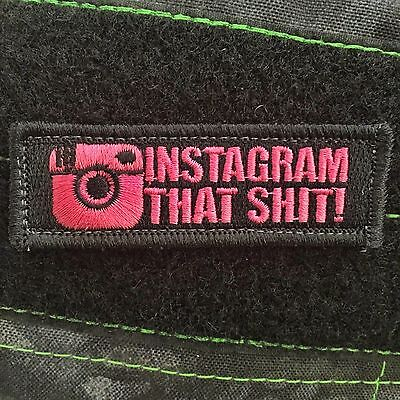 Tactical Outfitters - IG That S*** Morale Patch - pink