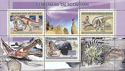 (223863) Scouting, Dinosaurs, Guinea