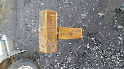 """Mild Steel Box Section Square Hollow Blocks 18 1/2 """" long x 6 """" square Used"""