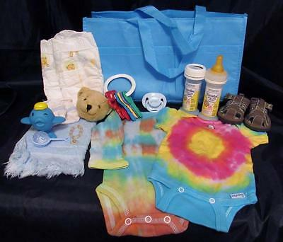 Reborn newborn baby Grab & Go Complete Diaper bag doll bottles clothes toy paci