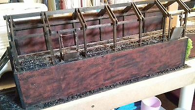 O Gauge / 7mm  SCRATCHBUILT OPEN COALING STAGE WITH RAMP