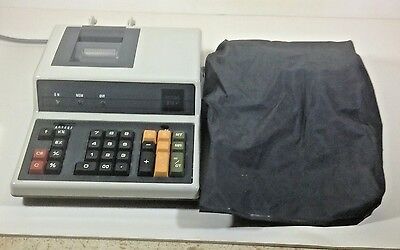 Royal 212P Desktop Printing Calculator Adding Machine WORKS  with Cover